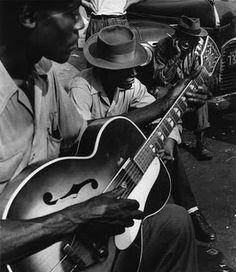 Blues singers, Mississippi, 1951.