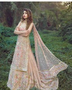 For order please mention in comment or DM us ! Shipping is world wide available .Or contact on what's aap 00923314744301 . Indian Wedding Gowns, Indian Bridal Outfits, Indian Designer Outfits, Designer Dresses, Pakistani Couture, Pakistani Wedding Dresses, Pakistani Outfits, Dress Indian Style, Indian Dresses