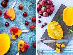 Nepečený tříbarevný bezlepkový dort | P&G foodies Ice Ice Baby, Watermelon, Foodies, Mango, Fruit, Manga