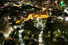 Hyde Park from Sydney Tower