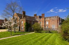 The east front in spring at The Vyne, Hampshire on my to-visit list!!