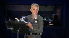 Ellen Reads '50 Shades of Grey'  #fiftyshades