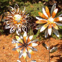Metal flowers!!