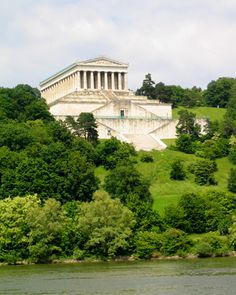 Walhalla, named after the Viking heaven - Valhalla, a Greek style monument to German heroes.