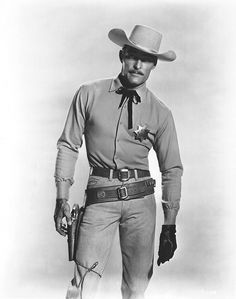 Old Western Actors, Western Movies, John Russell Actor, Yul Brynner, The Virginian, Tv Westerns, Hollywood Men, Old Movie Stars, Old Tv Shows