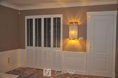 Shutters, shuttersy, okiennice wewnętrzne | GAMA STYL