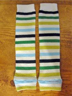 DIY Sew Baby Legs