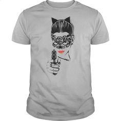 Batman Dark Night Rises Cat Gun T Shirt, Hoodie, Sweatshirts - design a shirt #shirt #Tshirt