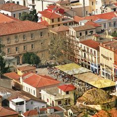 liathparis_gf NAFPLIO - GREECE SYNTAGMA SQUARE IN NAFPLIO , the first capital of GREECE.  http://instagram.com/p/cEGdSeCoET/