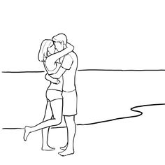 Posing Couples: 25 Sample Poses for Couples Photography - Video School Online Couple Photoshoot Poses, Couple Photography Poses, Photography Lessons, Outline Drawings, Art Drawings Sketches, Easy Drawings, Drawing Couple Poses, Couple Drawings, Posing Couples