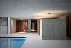 'La Piscina del Roccolo' designed by act_romegialli architecture studio is a luxurious indoor swimming pool set in a historic home in Italy. Hidden Swimming Pools, Underground Swimming Pool, Luxury Swimming Pools, Swimming Pool Designs, Luxury Pools, Small Pools, Dream Pools, Indoor Pools, Lap Pools