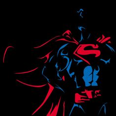 Negative Space DC Characters