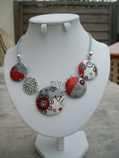 necklace - try with polymer beads