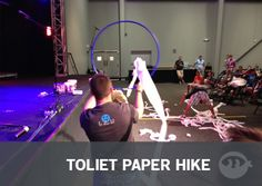 Toilet Paper Hike: Youth Group Games - Stuff You Can Use