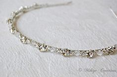 Wedding Accessories, Bridal Headpiece, Crystal Hairband, Bridal Swarovski Rhinestone and Crystal Headband - Twinkling Halo