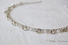 Wedding Accessories, Bridal Headpiece, Crystal Hairband, Bridal Swarovski Rhinestone and Crystal Headband - Twinkling Halo
