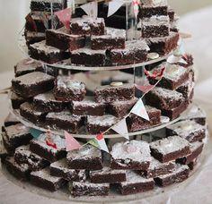 panna's baking brownie tower