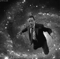 Christopher Walken trippy animated picture.