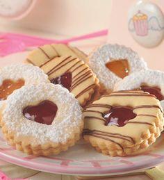 Masitas alemanas Fancy Cookies, Cake Cookies, Sugar Cookies, Cookie Recipes, Dessert Recipes, Valentines Day Cakes, Small Cake, Cookie Decorating, Christmas Cookies