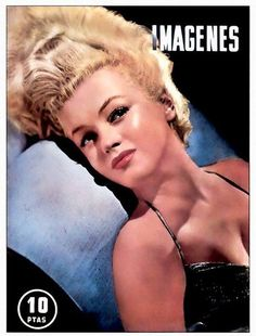 Imagenes - April 1953, Spanish magazine. Cover girl, Marilyn Monroe <3