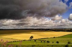 Bedrohliche Wolken - Wiltshire