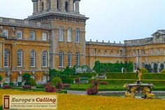 Blenheim Palace www.europescalling.com