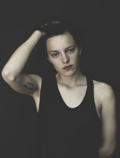 """Erika Linder: """"I have too much imagination to just be one gender."""" #genderqueer #androgynous"""