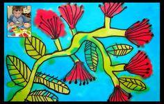 art - vivid and dye pohutakawa (no bleach), Calendar art - vivid and dye pohutakawa (no bleach), Calendar art - vivid and dye pohutakawa (no bleach), Classroom Art Projects, Art Classroom, Art Calendar, Kids Calendar, Calendar Pictures, School Calendar, Calendar Ideas, Christmas Art For Kids, Polynesian Art