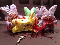 Oh no...zombie peeps..LMAO!!