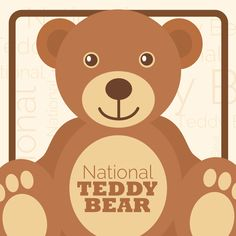 Remember your teddy bear and use #NationalTeddyBearDay to post on social media! #CampusBooksDays