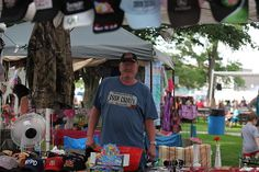 This is Anthony Cornett's photo of a  vendor at the Centralia, Missouri Anchor Fest 2014.