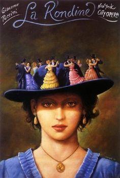 I love her opera posters