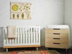 Brooklyn-based husband and wife designers Oeuf create beautiful, eco-friendly kids furniture that is so chic, you will want to keep it in your house long after your kids have grown up. (At least you can use this logic for the dresser shown above, if not the crib). If you are looking for stylish green furniture for your nursery, the buck stops at Oeuf. A longtime favorite of Inhabitat.