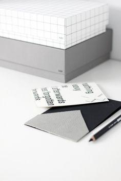 DIY: minimal leather postcards   Hay boxes