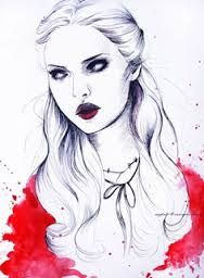 Image result for watercolor and pen portraits