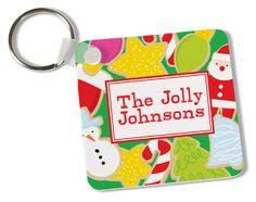 Holiday Treats Key Chain