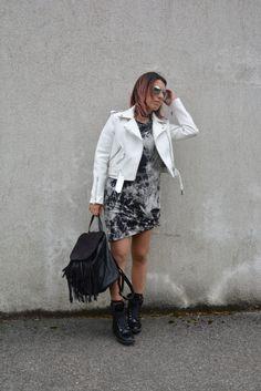 Black & White outfit - Loladelavega Blog