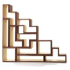 Tetris shelves!!  Brave Space Design Tetrad Mega Shelving at DesignPublic.com