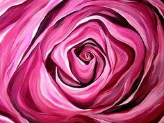 Rose print.