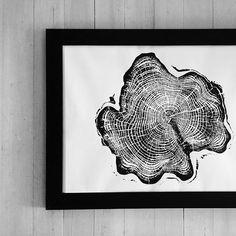 Made from a cedar from Alaska! #lintonart #treeringprints #Treelovers #interiorart #hotelart #apartmenttherapy #Officedesign #giftsforhim #giftsforher #etsyseller #alaskancedar #woodart #cypresswood