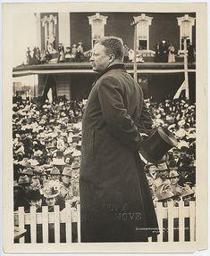 President Theodore Roosevelt in Abilene, Kansas in 1903