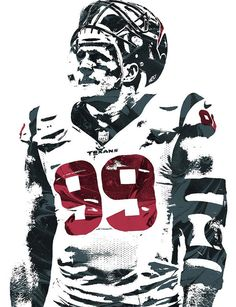 Jj Watt Houston Texans Pixel Art 4 Art Print by Joe Hamilton. All prints are professionally printed, packaged, and shipped within 3 - 4 business days. Choose from multiple sizes and hundreds of frame and mat options. Houston Texans Football, Football Art, Football Memes, Football Banquet, Football Players, Joe Hamilton, Jj Watt, Thing 1, Colored Highlights