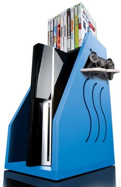 Oooh, shiny. Great #storage system for all your games!