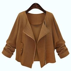 GET $50 NOW | Join RoseGal: Get YOUR $50 NOW!http://www.rosegal.com/jackets/simple-style-long-sleeve-pure-292858.html?seid=1424208rg292858