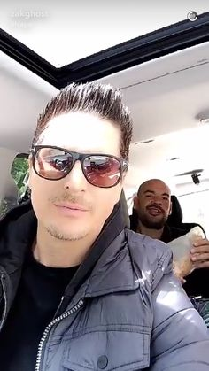 Zak Bagans and Aaron Goodwin Ghost Adventures Funny, Ghost Adventures Zak Bagans, You Are Handsome, Hunting Shows, My Ghost, Ghost Hunters, Cute Celebrities, Celebs, Dwayne Johnson
