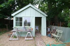 garden - shed