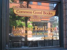 Common Good Books, Minneapolis, MN