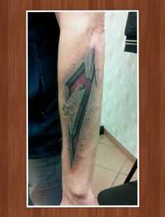 Tattoo-Foto: Metallica M in 3D