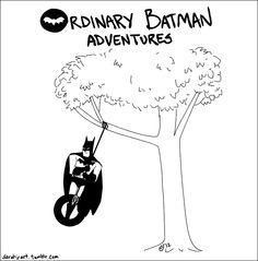 itty bitty positivity committee: I am Batman