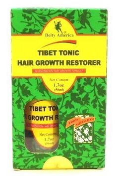Deity Of Hair Tibet Tonic Hair Growth Restorer 1.7 oz. (Case of 6) by Deity. $127.99
